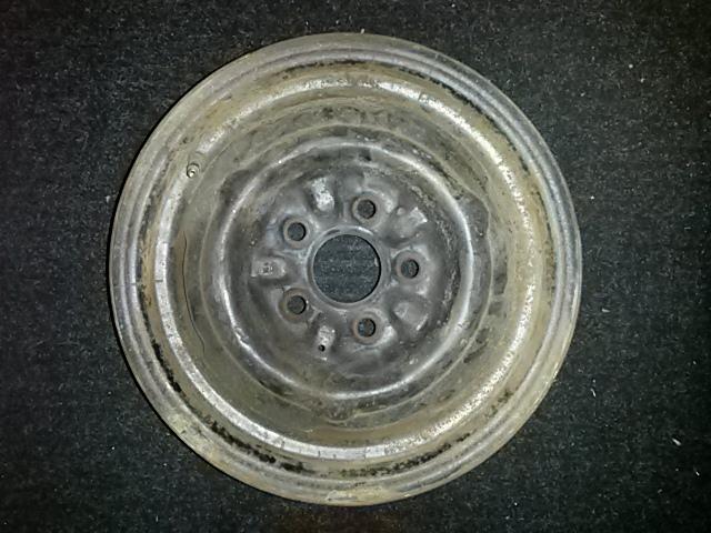 1964 1968 Mustang V8 Steel Wheel 5 Lug 14 Inch Disc