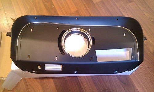 1969 1970 Mustang Mach 1 Deluxe Dash Clock Panel  Ne
